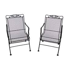 Mesh Patio Chairs by Top 10 Best Wrought Iron Patio Furniture Sets U0026 Pieces