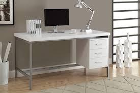 Contemporary Office Desk by Amazon Com Monarch Hollow Core Silver Metal Office Desk 60 Inch