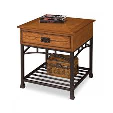 Craftsman Style Dining Room Furniture Modern Craftsman Distressed Oak End Table Homestyles