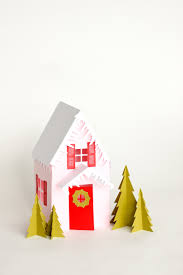 gingerbread writing paper paper holiday houses free templates www deliacreates com paper holiday houses free templates www deliacreates com