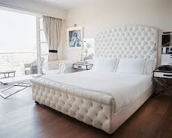Incredible Stylish White Tufted Bedroom Set Best  Tufted Bed - White tufted leather bedroom set
