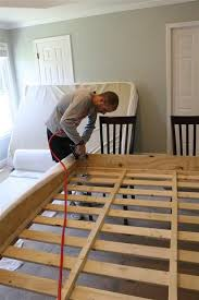 Build Diy Platform Bed by Best 25 Build A Bed Ideas On Pinterest Diy Bed Twin Bed Frame