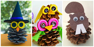 pine cone crafts for kids u2013 crayon box chronicles