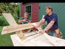 Plans To Build A Picnic Table Bench by How To Build A Picnic Table This Old House Youtube