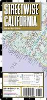 California Maps Streetwise California Map Laminated State Road Map Of California