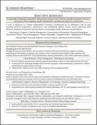 Sample Resume for Executive Assistant Position   Eager World Annamua