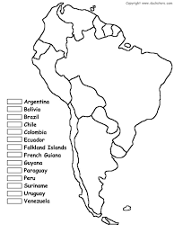 Map Of The South America by South America Map Thinglink