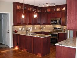 How To Paint Veneer Kitchen Cabinets Kitchen How To Take Care And Maintain Your Cherry Kitchen Cabinet