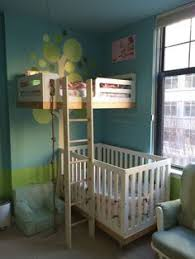 love transform an old crib into a loft toddler bed simple