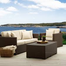 Patio Furniture Set Outdoor U0026 Garden Columbia Sectional Wicker Modern Outdoor Patio