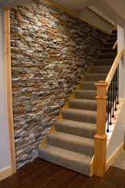 Stone Cladding For Garden Walls by Faux Stone Backsplash Love Brick Backsplash In The Kitchen Easy