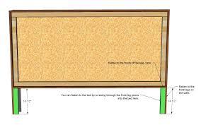 King Headboard Ana White King Size Framed Upholstered Headboard Diy Projects
