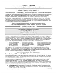 Director Of It Resume Examples by Management Consulting Resume Example For Executive