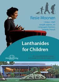Lanthanides for Children     DVD  Resie Moonen   quot Homeopathy from     Narayana Verlag Lanthanides for Children     DVD  Resie Moonen