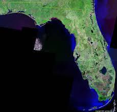 Orlando Florida On Map by Florida Satellite Images Landsat Color Image