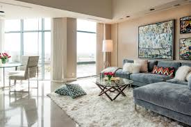 12 living room ideas for a grey sectional hgtv s decorating choose a cozy area rug