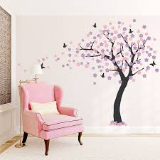 Tree Decal For Nursery Wall by Large Cherry Blossom Tree Wall Decal
