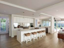 features of this modern family home include a spacious kitchen