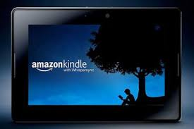 Gambar Foto Komputer Tablet Amazon Kindle Fire