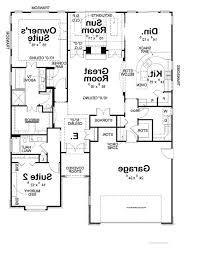 best 3 bedroom rectangular house plans pinterest nv 7026