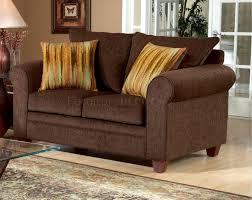 Chocolate Living Room Furniture by Fabric Elegant Living Room Sofa U0026 Loveseat Set