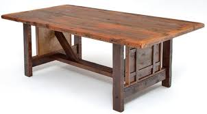Barn Wood Kitchen Table  Home Design And Decorating - Barnwood kitchen table