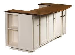 amish newbury kitchen island with bench