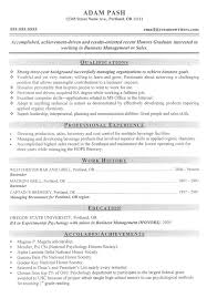 Resume Examples  Sales Good Resume Example With Qualifications In Managing Organization And Professional Experience As     Rufoot Resumes  Esay  and Templates