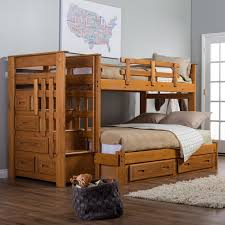 Plans For Building Bunk Beds by Bunk Bed Plans With Stairs For Kids Latest Door U0026 Stair Design