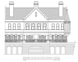 East Wing Floor Plan by Balmoral Castle Plans Luxury Home Plans