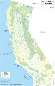 Map Of Northeast United States by List Of Rivers In California California River Map