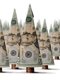 рекламодавець ялинка із доларів