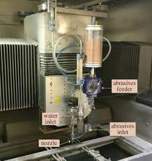 stochastic simplified modelling of abrasive waterjet footprints