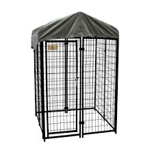 A Frame House Kit Kennelmaster 4 Ft X 4 Ft X 6 Ft Welded Wire Dog Fence Kennel
