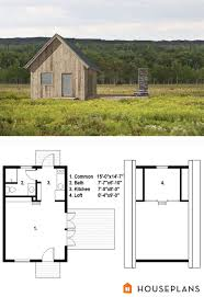 Barn Floor Plans With Loft 91 Best Tiny House Floor Plans Images On Pinterest House Floor