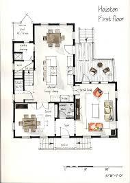 real estate watercolor 2d floor plans part 1 on behance