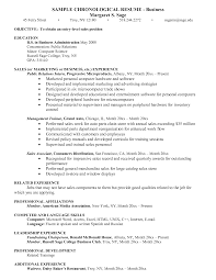 Resume Examples Business Resume Objective education and longbeachnursingschool