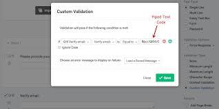 Validation   Qualtrics Support Qualtrics