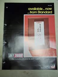 standard electric time catalogs and ads fire alarm resources