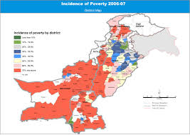 Pakistan On The Map Multidimensional Poverty In Pakistan Undp In Pakistan