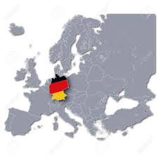 Map Germany by Europe Map Germany Stock Photo Picture And Royalty Free Image