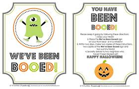 Halloween Party Poems It U0027s Written On The Wall 16 Versions You U0027ve Been Booed Fun
