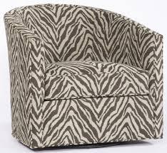 Club Swivel Chair Animal Print Swivel Chair