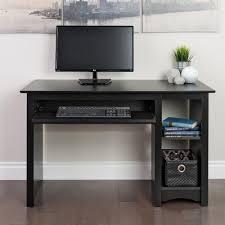 Computer Desks Black by Prepac Black Desk Bdd 2948 The Home Depot