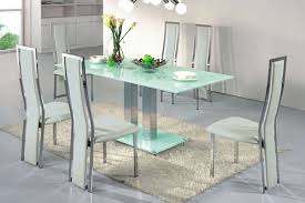 dining table contemporary room furniture dining room modern glass