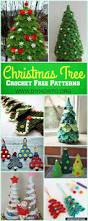 Diy Mini Christmas Trees Pinterest Best 25 Christmas Crochet Patterns Ideas On Pinterest Crochet