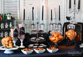 Scary Ideas For Halloween Party by Spooky Halloween Party Set Up