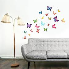 compare prices on childrens wall murals online shopping buy low sweet center butterflies childrens wall stickers mural art decor 21 piece china