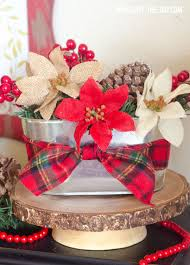 christmas centerpiece craft by love the day