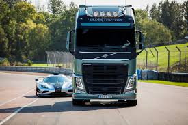 volvo truck design volvo fh truck tells koenigsegg one 1 game on